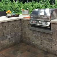 Got a weekend? Add a weathered stone fireplace or grill station to your yard Grand Island,Ne