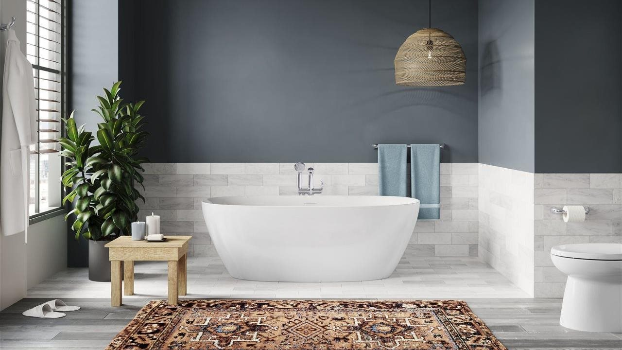 Sophisticated soak: 3 stylish ways to add a freestanding bathroom tub