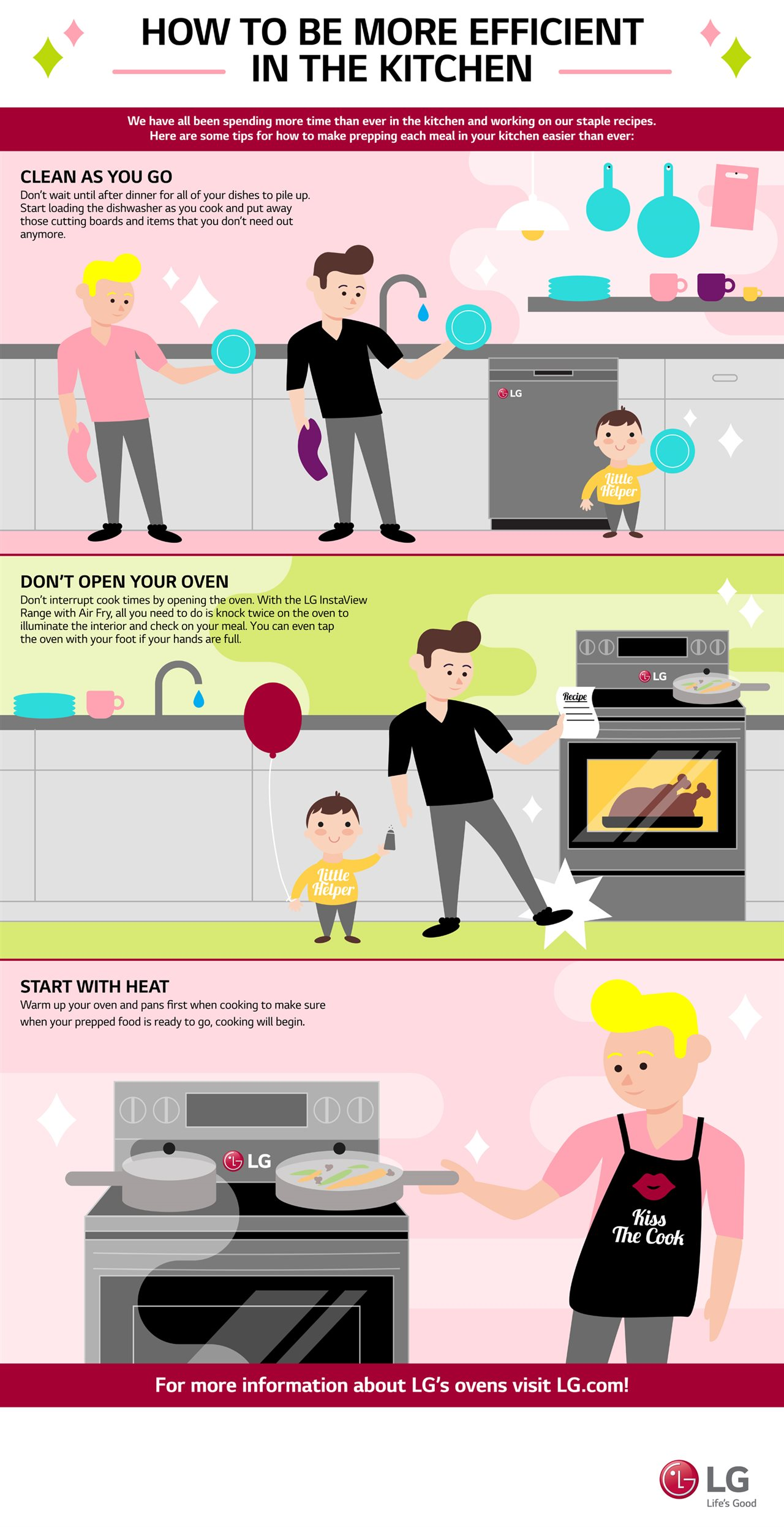 How to Be More Efficient in the Kitchen [Infographic]