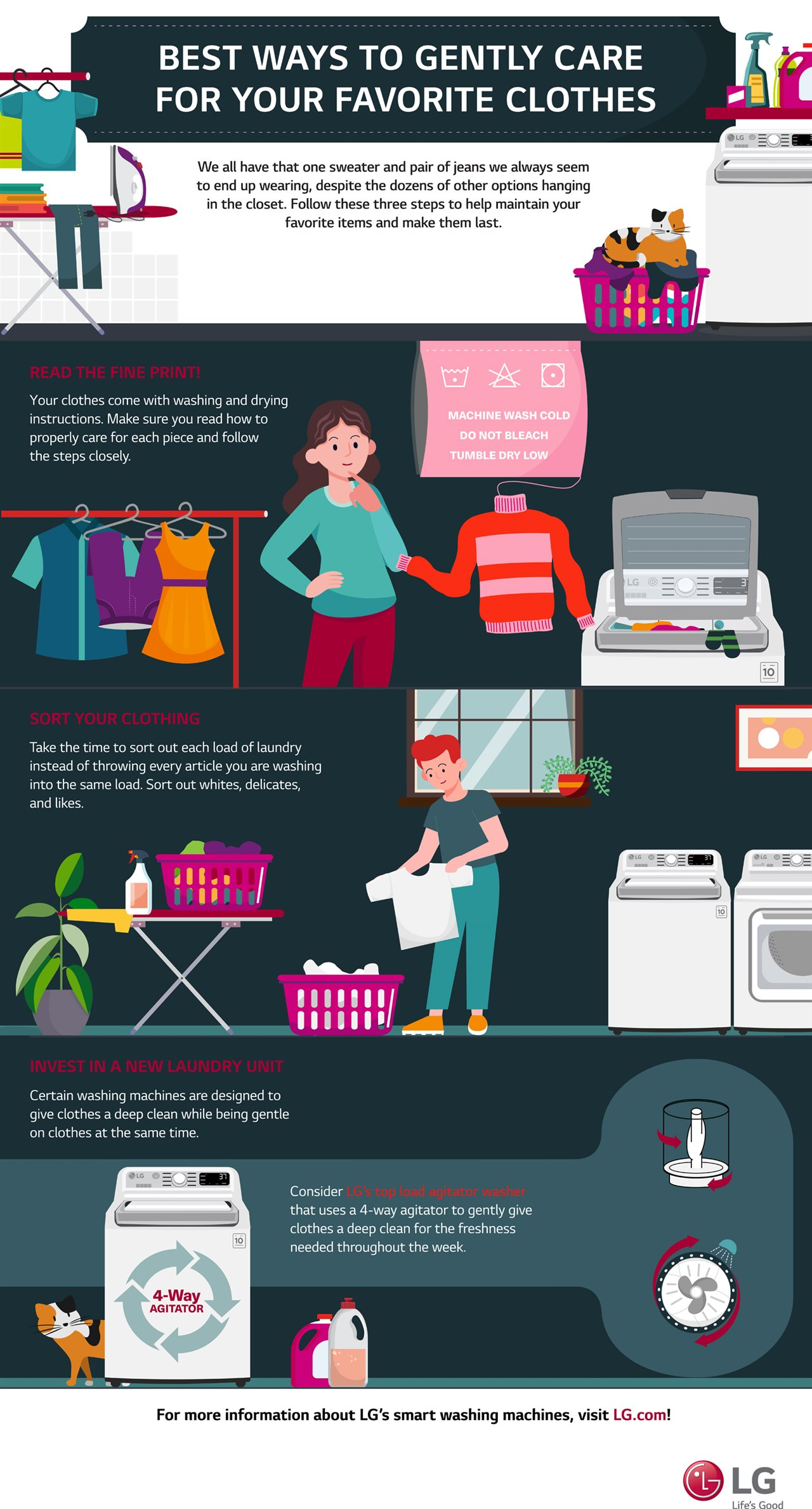 Best ways to gently care for your favorite clothes [Infographic]