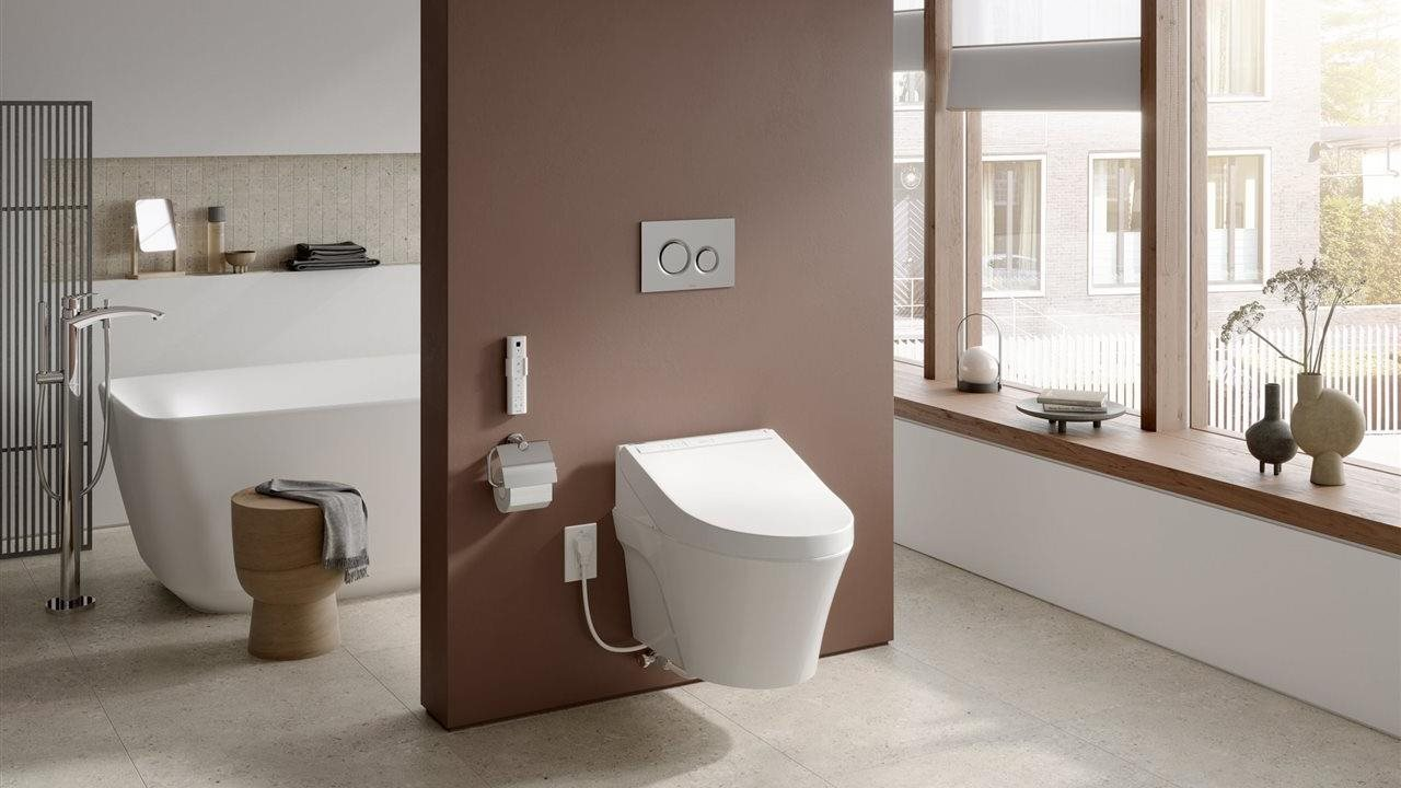 Spring project inspiration: A bidet leaves you and the bath clean and refreshed